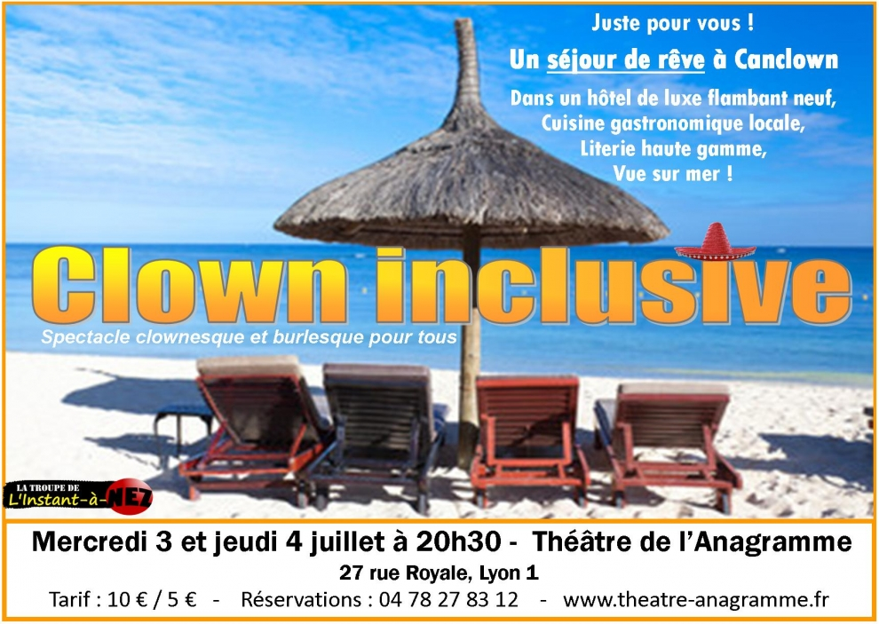 Clown inclusive - Affiche