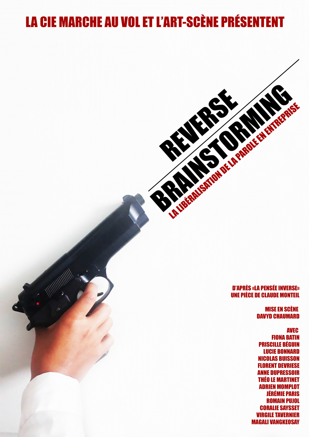Reverse Brainstorming - Affiche